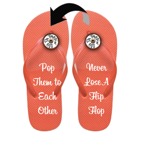 Flip Flops That Never Get Lost