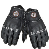Love Hate Leather Gloves