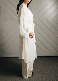 Load image into Gallery viewer, The Silk Chiffon Robe
