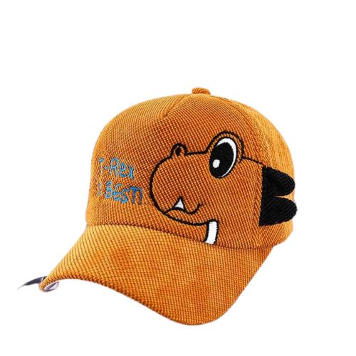 casquette dinosaure t rex is the best orange