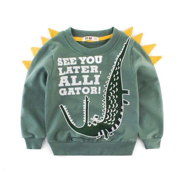 pull dinosaure enfant alligator