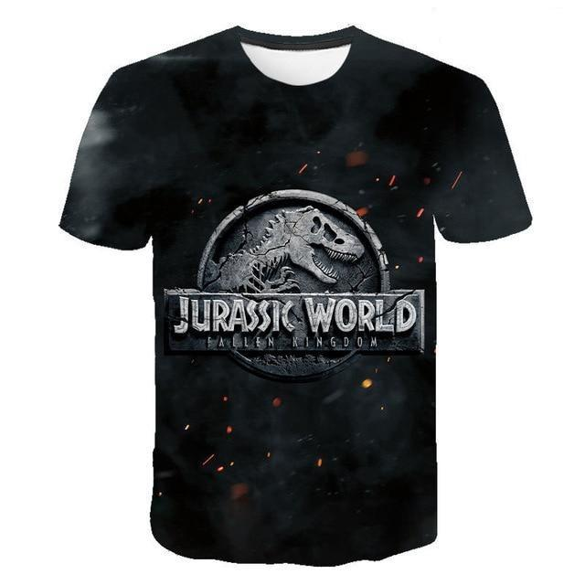 t shirt dinosaure jurassic world