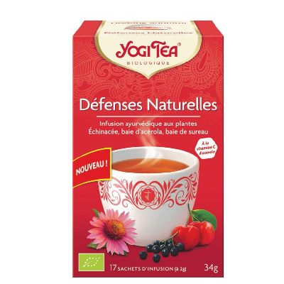 Yogi Tea Defenses Naturelles