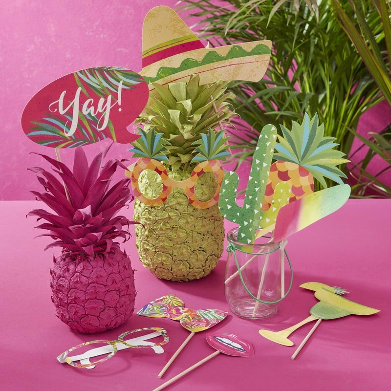 """Aloha"" Photo Booth -tarvikesetti - Decora House"