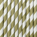 "Paperipillit ""Stripes"" / kulta 10 kpl - Decora House"