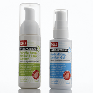 Medical Hand Sanitiser Gel (50ml) & Hand & Body Sanitiser (50ml)