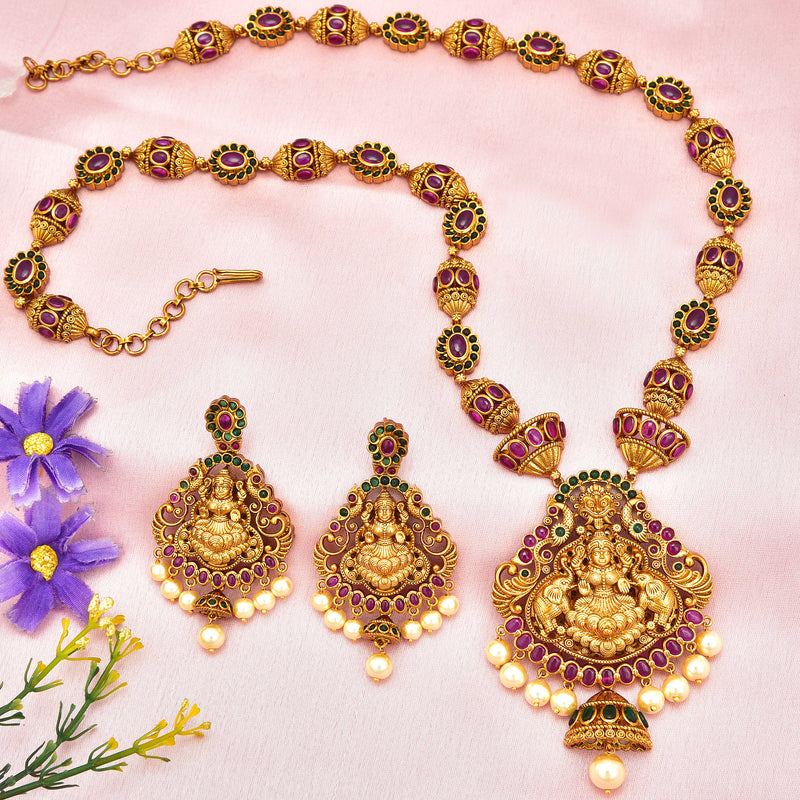 CZ Jhumka Earrings 85897