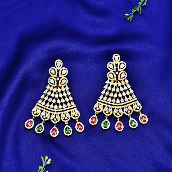 CZ Earrings 54750