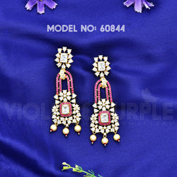 CZ Earrings 60844