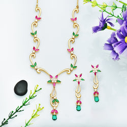 CZ Necklace Set 77626