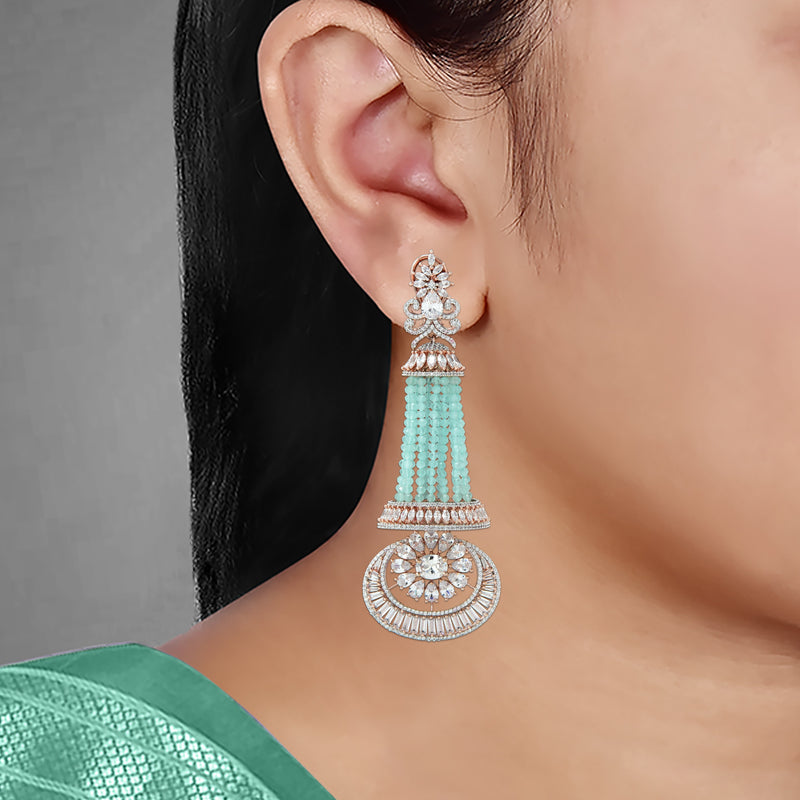 CZ Earrings 80298