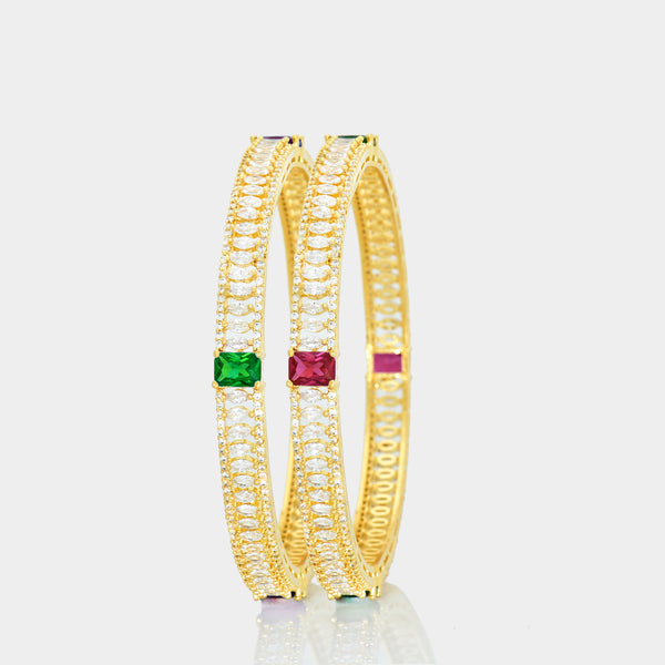 CZ Bangle Set ZBGL10166