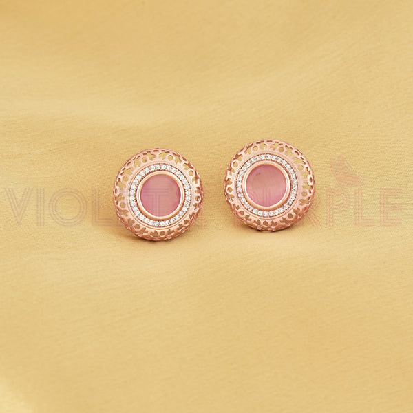 CZ Stud Earrings 80479