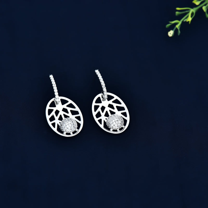 CZ Earrings 80485