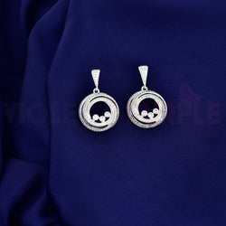 CZ Chandbali Earrings 80513