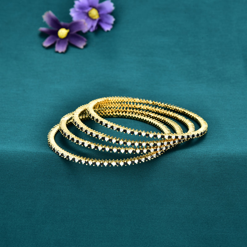 CZ Bangle Set ZBGL10041