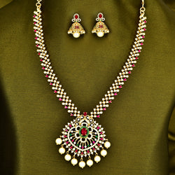 CZ Necklace Set 85443