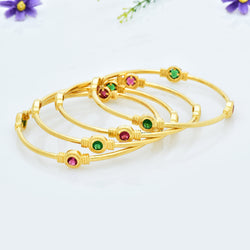 CZ Bangle Set ZBGL10312