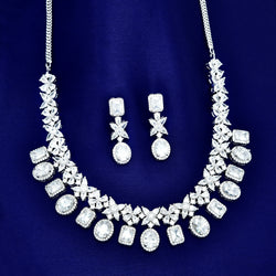 CZ Necklace Set 84249