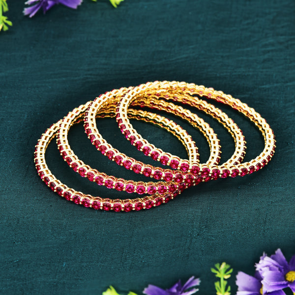 CZ Bangle Set ZBGL10386