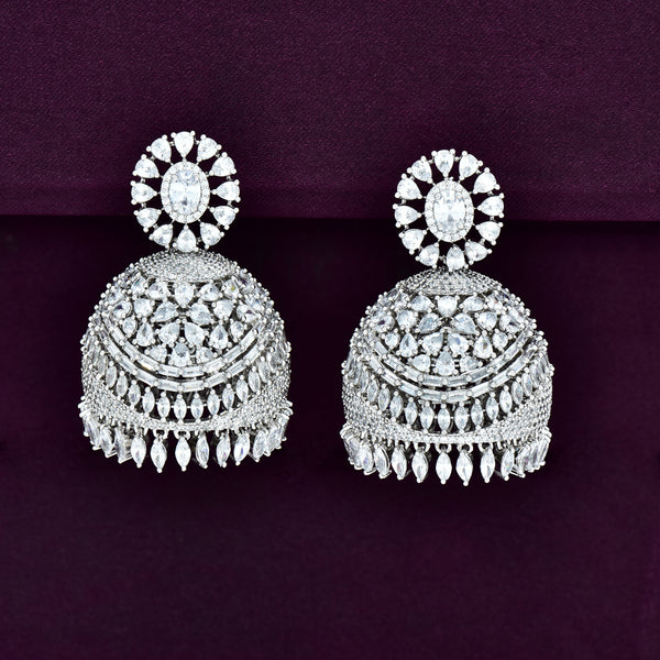 CZ Jhumka Earrings 86072