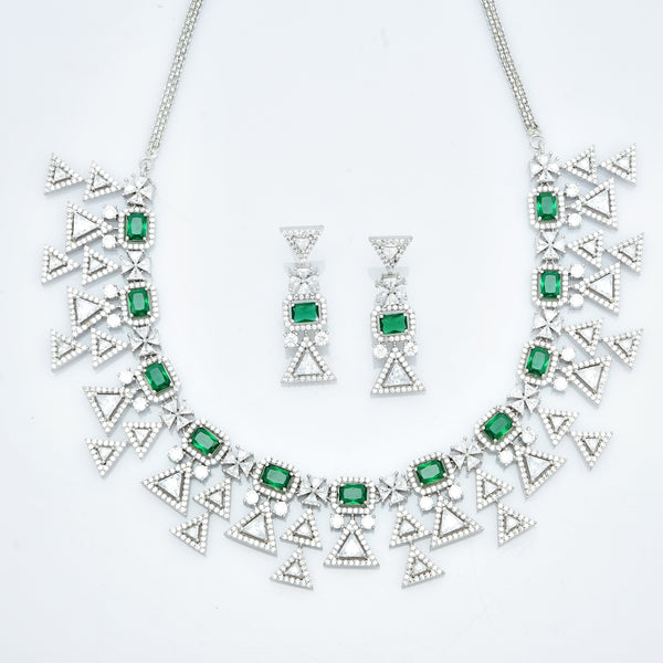 CZ Necklace Set 86158