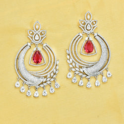 CZ Chandbali Earrings 86533
