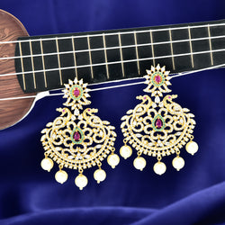 CZ Earrings 86866