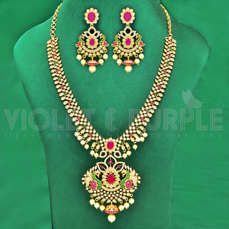 CZ Necklace Set 87596