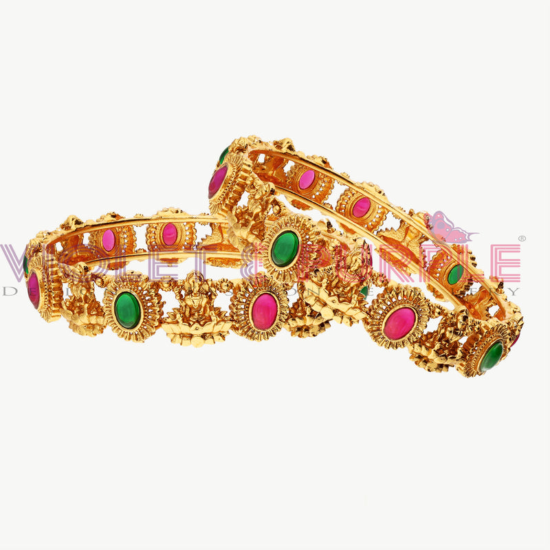 Kempu Bangle Set ZBGL10426