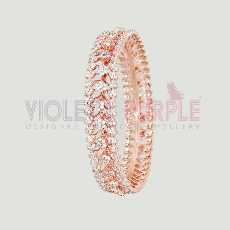CZ Bangle ZBGL10452-RSG-FW