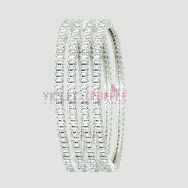 CZ Bangle Set ZBGL10175
