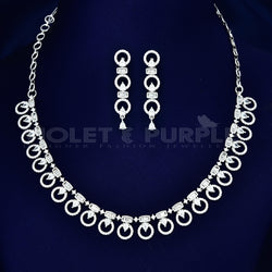CZ Necklace Set 89184