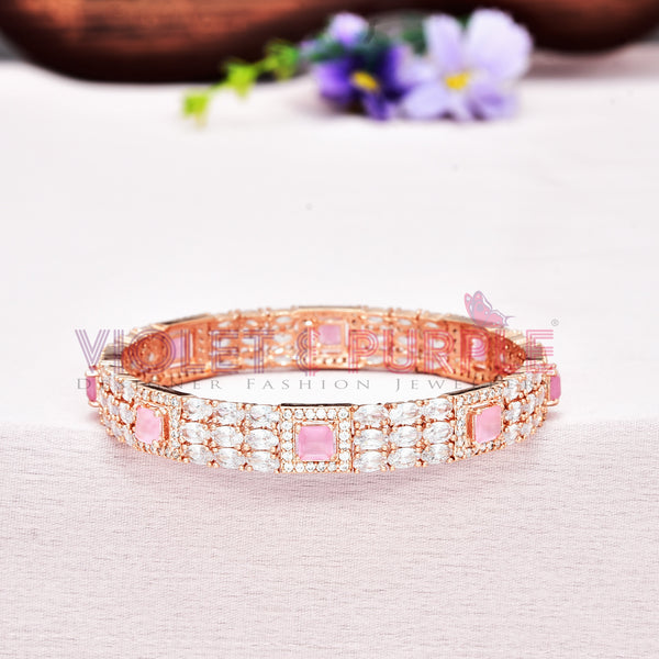 CZ Bangle ZBGL10470-RSG-BPW
