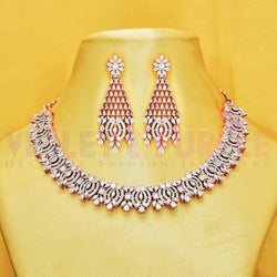 CZ Necklace Set 90163