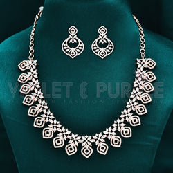 CZ Necklace Set 90179
