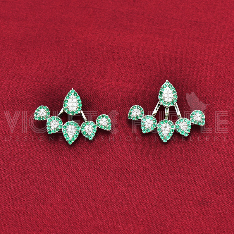 CZ Stud Earrings 90191