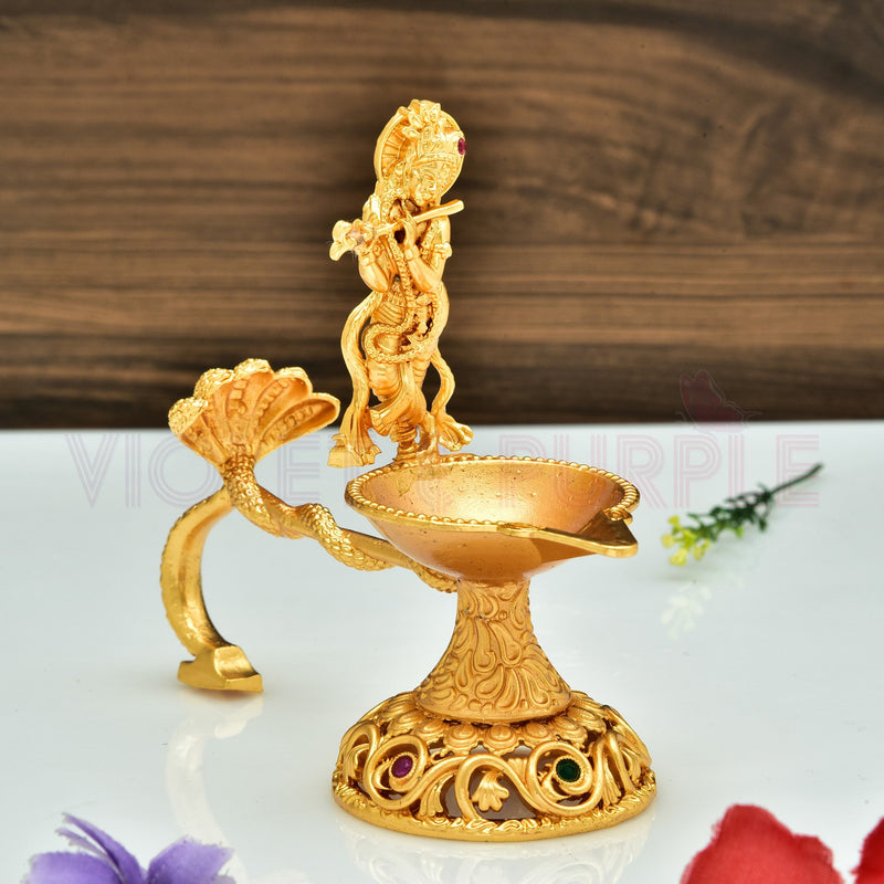 Temple Diya Lamp 77673