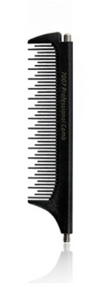 Retractable pintail comb