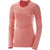 Salomon Elevate Seamless LS Tee W Hot Coral - Maglia Donna - Mud and Snow