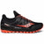 Saucony Xodus Iso 3 Black/Viz/Red -Scarpa Trail Running - Mud and Snow