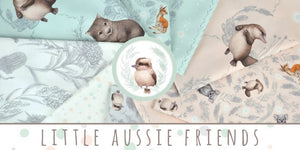 Little Aussie Friends Tossed Animals ~ Peach