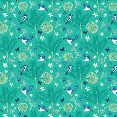 Kingfisher Forest Fabric