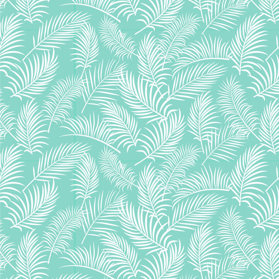 Tropical Fern Fronds ~ Green