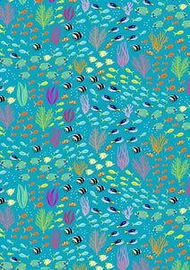 Great Barrier Reef Fabric