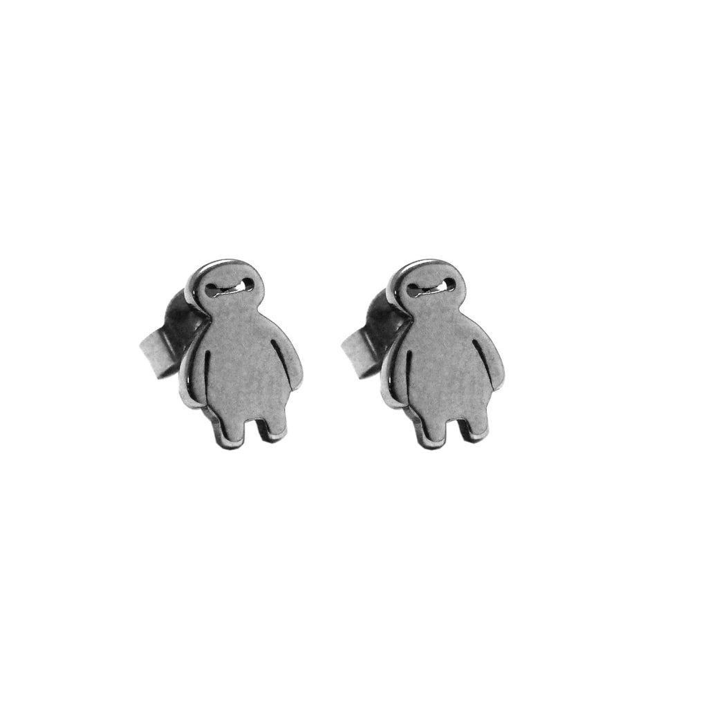 ESE 5370: Cutie Baymax Stud Earrings