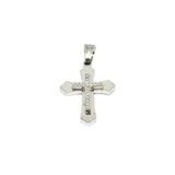 ESP 5657 :  Double 17-Cz Crucifix Pdant