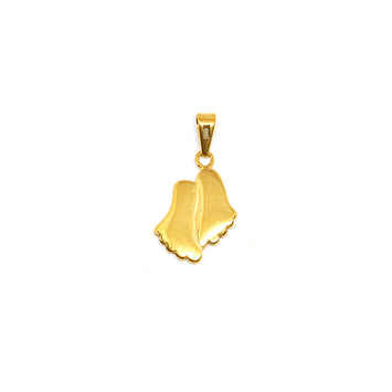ESP 5762 : Gold Plated Footsteps Pendant