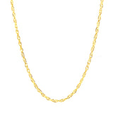 "ESCH 6724: 17"" Gold Plated Singapore Chain"