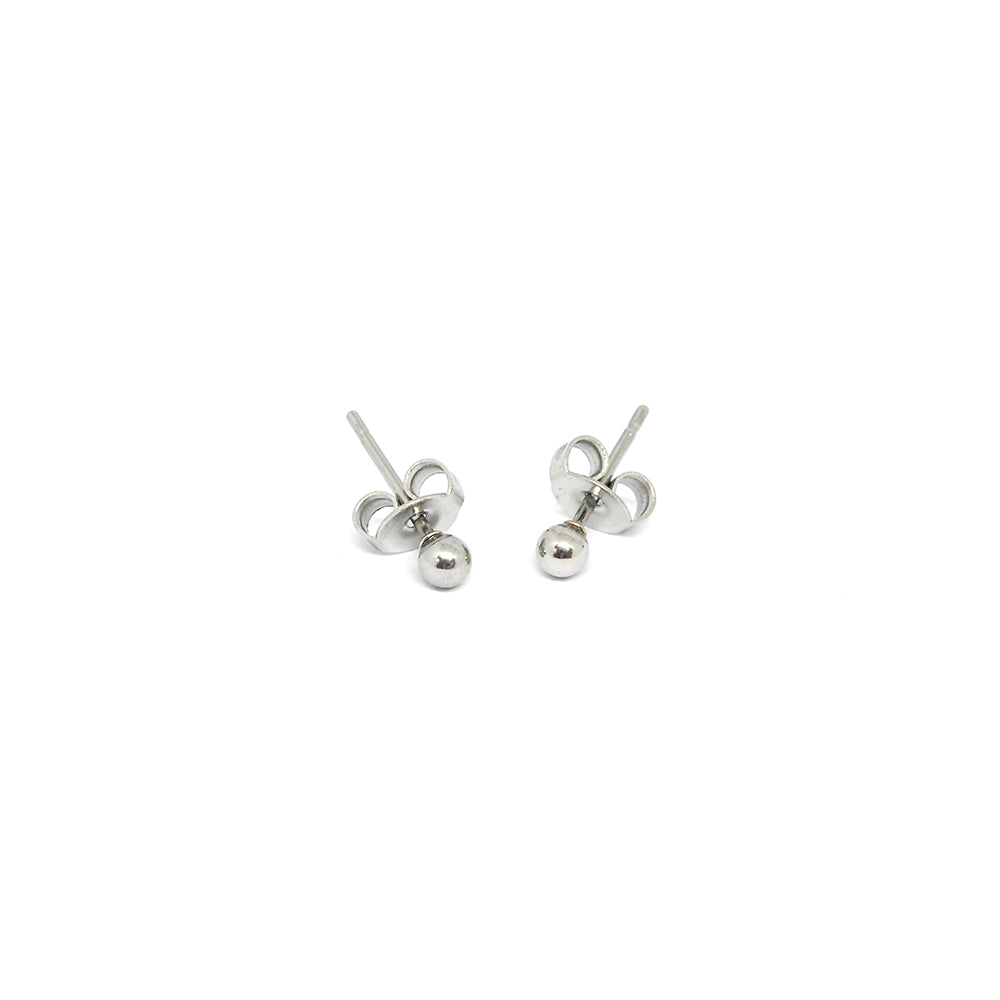 ESE 6810: Aira Sm Pearl Shaped Earrings (3mm)